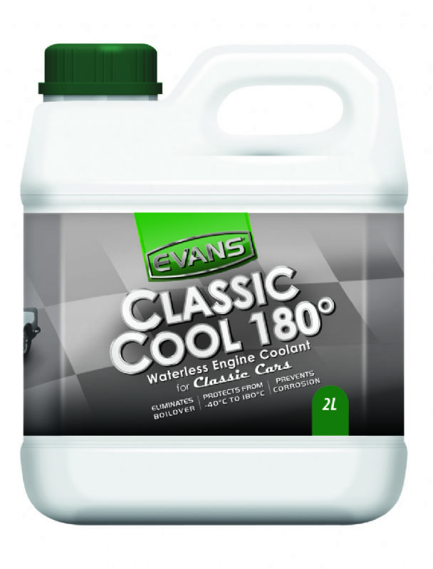 Evans Waterless Engine Coolant Classic Cool 180°C 2litres EVCC1802L